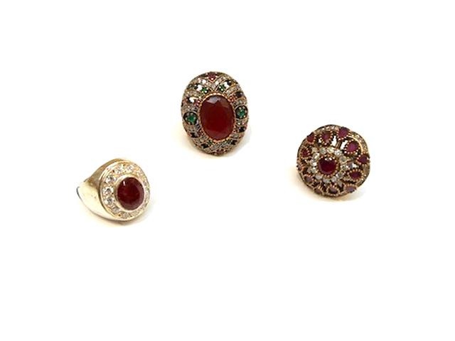 stati Uniti moda più desiderabile nuove varietà PIETRE VERE   anelli